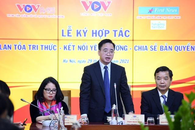 Lễ ký kết hợp tác lan tỏa tri thức giữa VOV và First News Trí Việt - 3