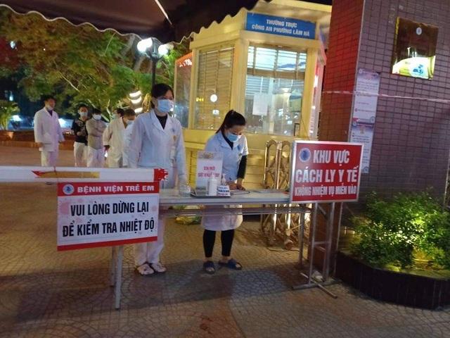 289 mẫu xét nghiệm tại Bệnh viện Trẻ em thành phố có kết quả âm tính - 1