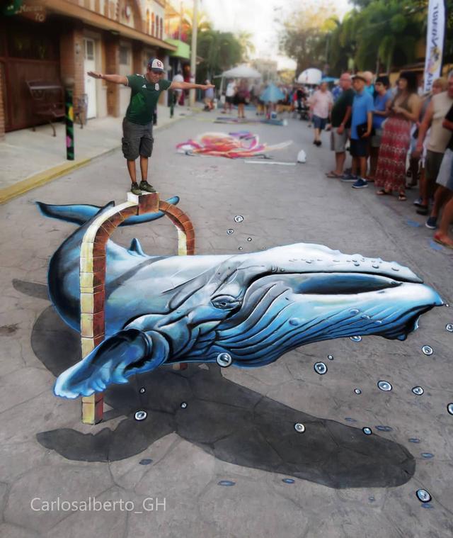 Những kiệt tác tranh 3D khiến nhiều người kinh ngạc - 4
