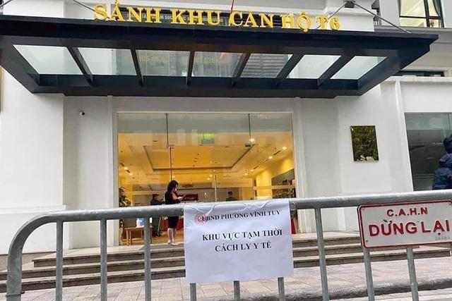 Hà Nội: Cận cảnh phong tỏa tòa nhà ở Times City - 4