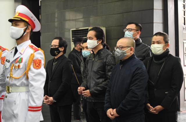 Xúc động tang lễ cố NSND Trung Kiên giữa diễn biến phức tạp của Covid- 19 - 8
