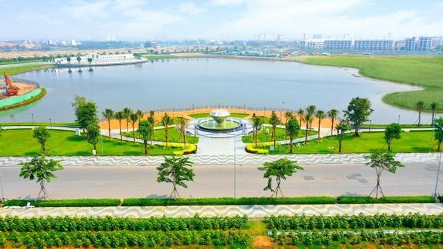 Hơn 350 tỷ đồng hoàn thiện 5ha công viên và tuyến phố đi bộ kênh Sông Trăng tại Van Phuc City - 2