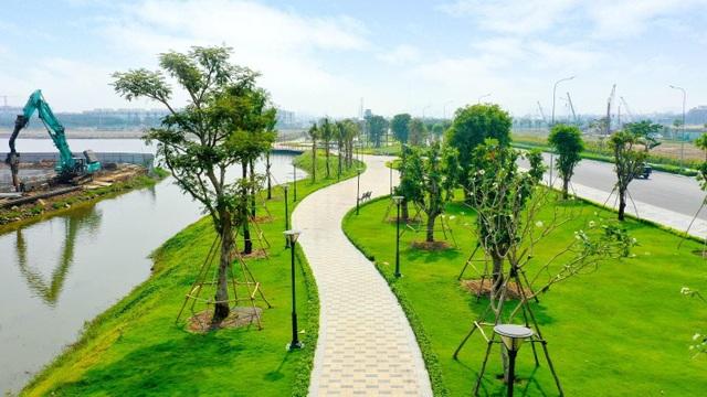Hơn 350 tỷ đồng hoàn thiện 5ha công viên và tuyến phố đi bộ kênh Sông Trăng tại Van Phuc City - 4