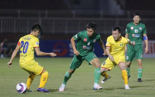 Sài Gòn FC thắng SL Nghệ An trong trận cầu không có khán giả - 3