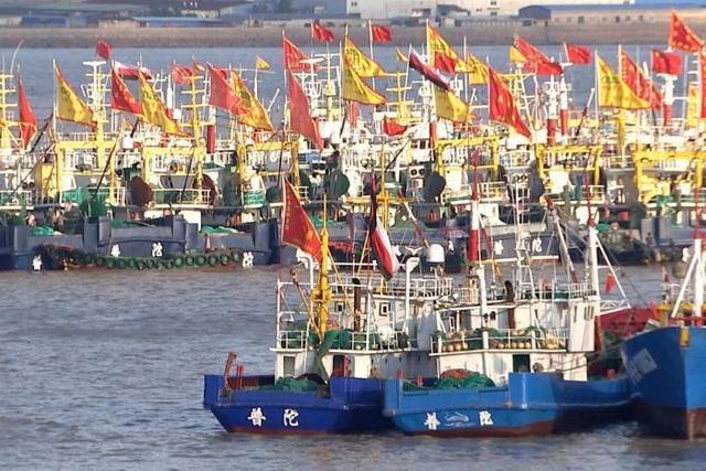 2 tàu Trung Quốc bị bắt vì hoạt động trái phép ở vùng biển nước ngoài - 1
