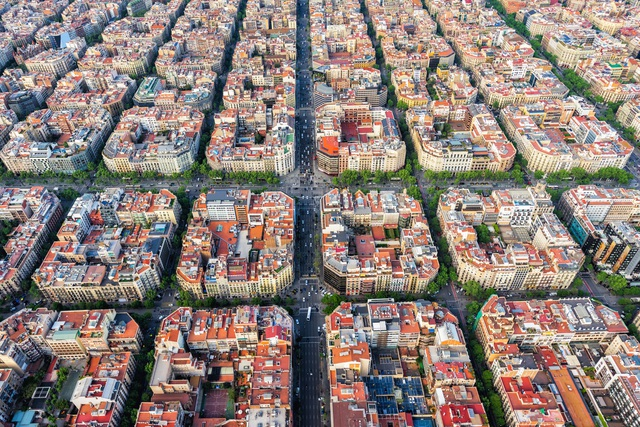 Những thành phố quy hoạch đẹp đến khó tin khi nhìn từ trên cao - 1