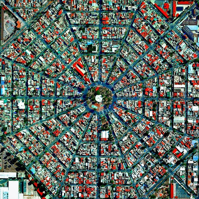 Những thành phố quy hoạch đẹp đến khó tin khi nhìn từ trên cao - 10
