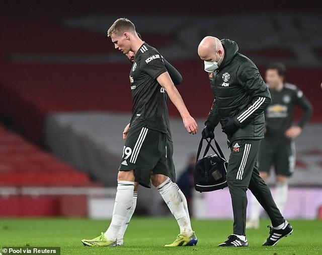 Lucky88 tổng hợp: Ngôi sao Man Utd rời sân sớm vì lý do khó đỡ
