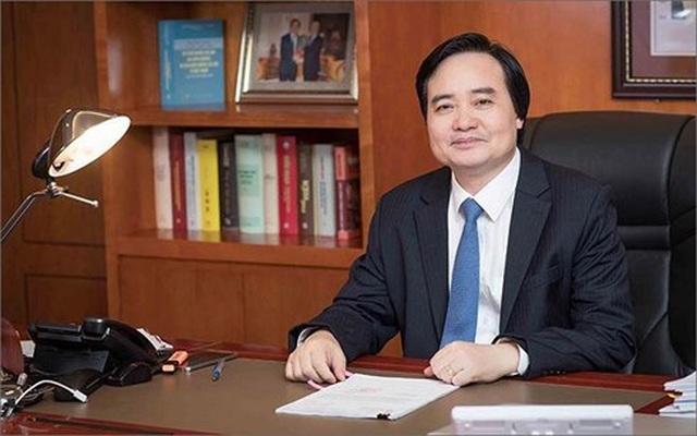 Dấu ấn 5 năm của Bộ trưởng Bộ GDĐT Phùng Xuân Nhạ - 1