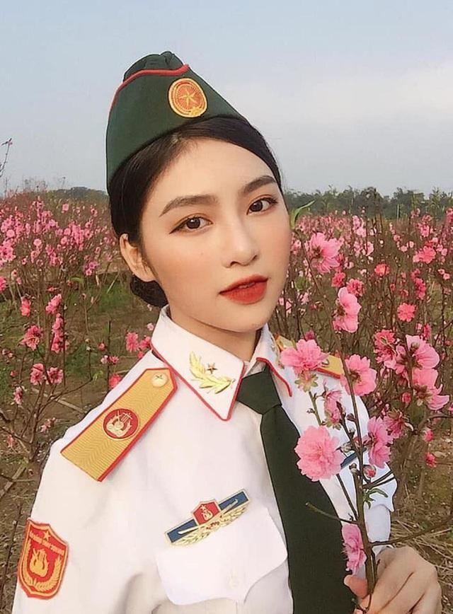 Những bóng hồng đẹp tựa thiên thần của ĐH Văn hóa Nghệ thuật Quân đội - 4
