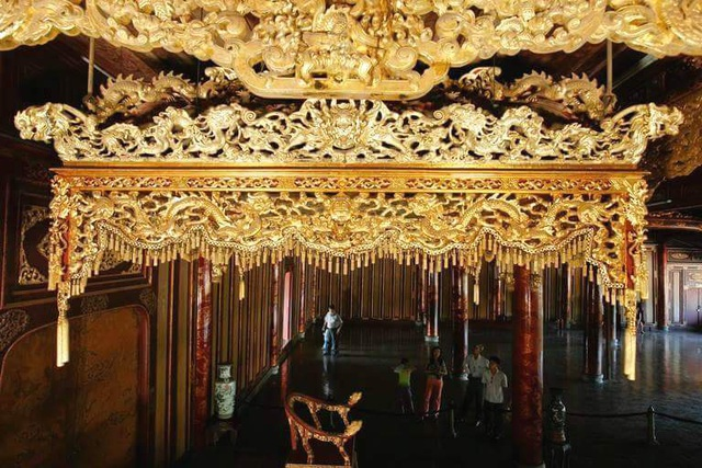 Ngắm ngôi điện đặt ngai vàng vua Nguyễn trước khi trùng tu - 1