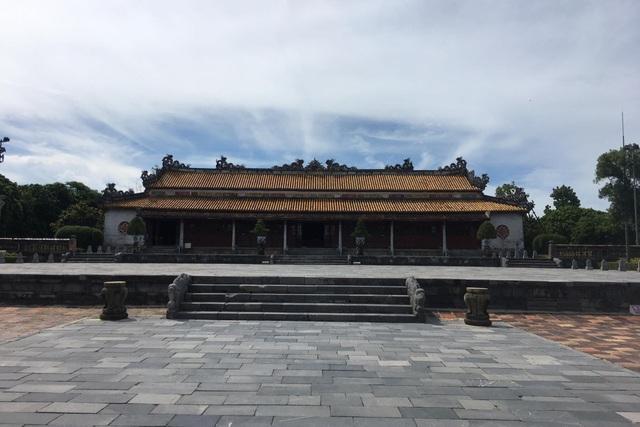 Ngắm ngôi điện đặt ngai vàng vua Nguyễn trước khi trùng tu - 3