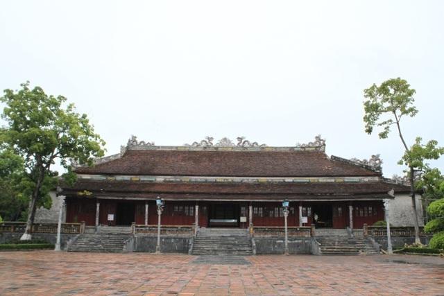 Ngắm ngôi điện đặt ngai vàng vua Nguyễn trước khi trùng tu - 4