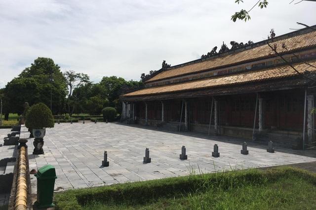 Ngắm ngôi điện đặt ngai vàng vua Nguyễn trước khi trùng tu - 5