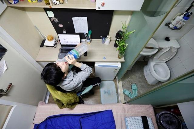 Cảnh sống ngộp thở trong phòng trọ 5m2, giá 6 triệu đồng/tháng ở Hàn Quốc - 6