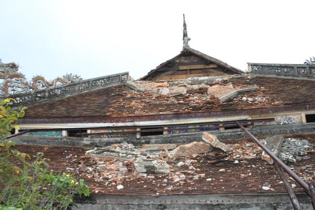 Ngắm ngôi điện đặt ngai vàng vua Nguyễn trước khi trùng tu - 6