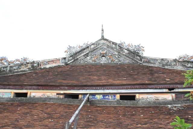 Ngắm ngôi điện đặt ngai vàng vua Nguyễn trước khi trùng tu - 7