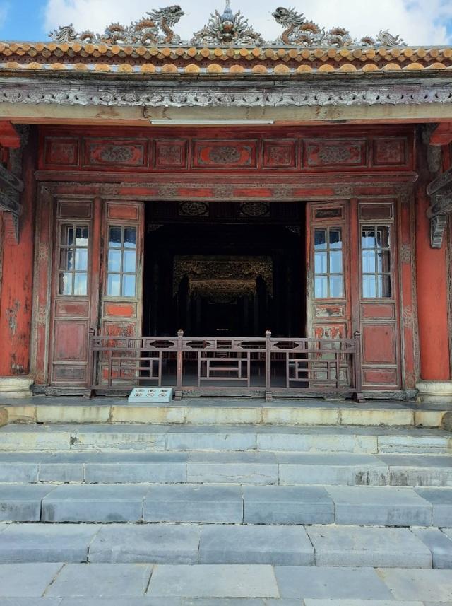 Ngắm ngôi điện đặt ngai vàng vua Nguyễn trước khi trùng tu - 10