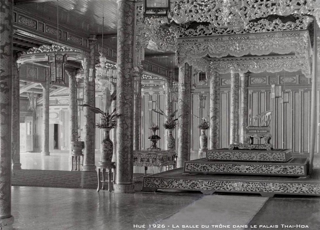 Ngắm ngôi điện đặt ngai vàng vua Nguyễn trước khi trùng tu - 16