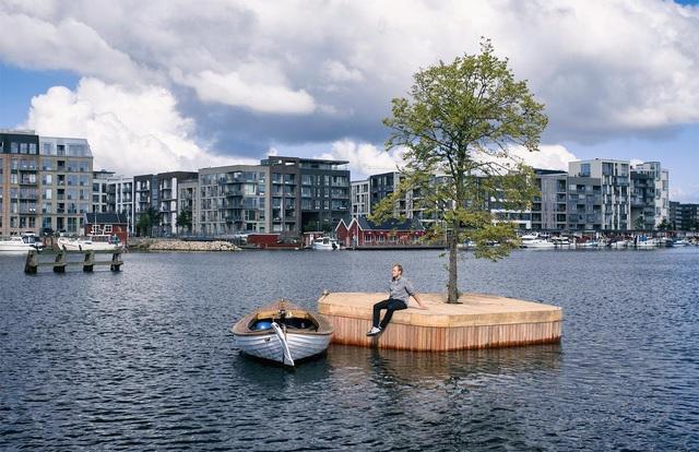 Công viên nổi ở Đan Mạch - nơi người dân chèo thuyền, bơi lội và làm nông - 3