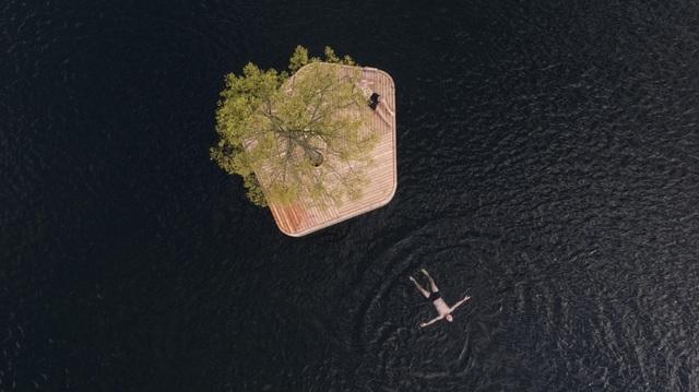 Công viên nổi ở Đan Mạch - nơi người dân chèo thuyền, bơi lội và làm nông - 7
