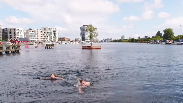 Công viên nổi ở Đan Mạch - nơi người dân chèo thuyền, bơi lội và làm nông - 8