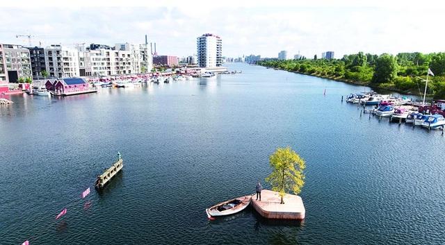Công viên nổi ở Đan Mạch - nơi người dân chèo thuyền, bơi lội và làm nông - 9