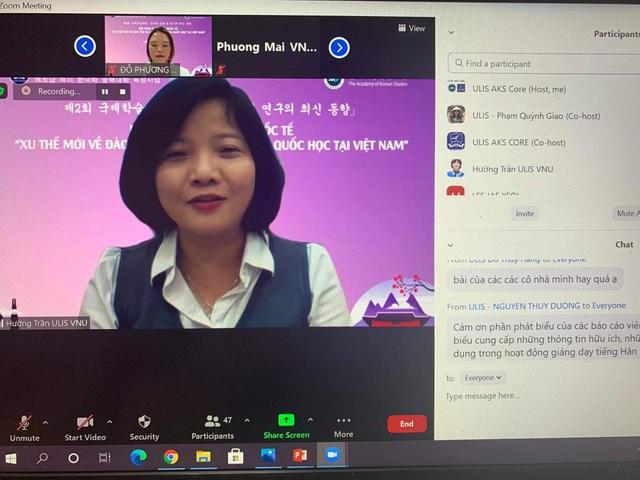 Hội thảo Xu thế mới về đào tạo và nghiên cứu Hàn Quốc học tại Việt Nam - 2