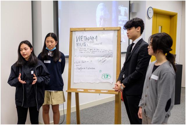 Học sinh học bổng toàn phần Trường Quốc tế Liên Hợp Quốc Hà Nội (UNIS Hà Nội) hành động vì môi trường - 1