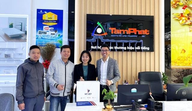 Mỹ Việt tặng hơn 2000 phần quà chúc tết NPP, đại lý Tết Tân Sửu 2021 - 3