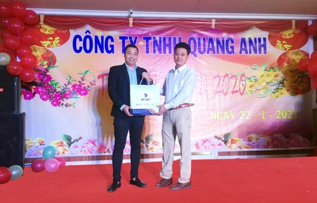 Mỹ Việt tặng hơn 2000 phần quà chúc tết NPP, đại lý Tết Tân Sửu 2021 - 4