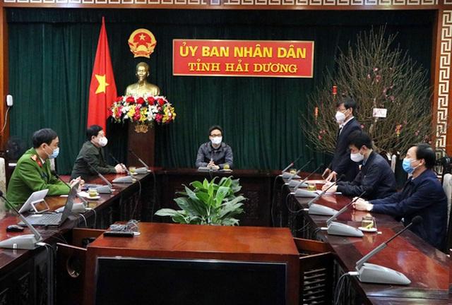 Phó Thủ tướng yêu cầu Hải Dương quyết đạt mục tiêu 10 ngày khống chế dịch - 1