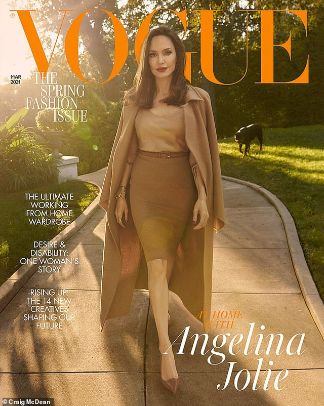 Angelina Jolie thừa nhận thiếu kỹ năng khi làm bà mẹ ở nhà - 1