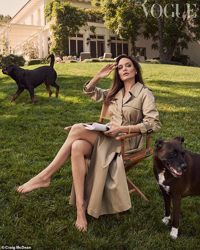 Angelina Jolie thừa nhận thiếu kỹ năng khi làm bà mẹ ở nhà - 2