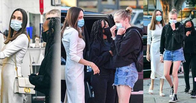 Angelina Jolie thừa nhận thiếu kỹ năng khi làm bà mẹ ở nhà - 6
