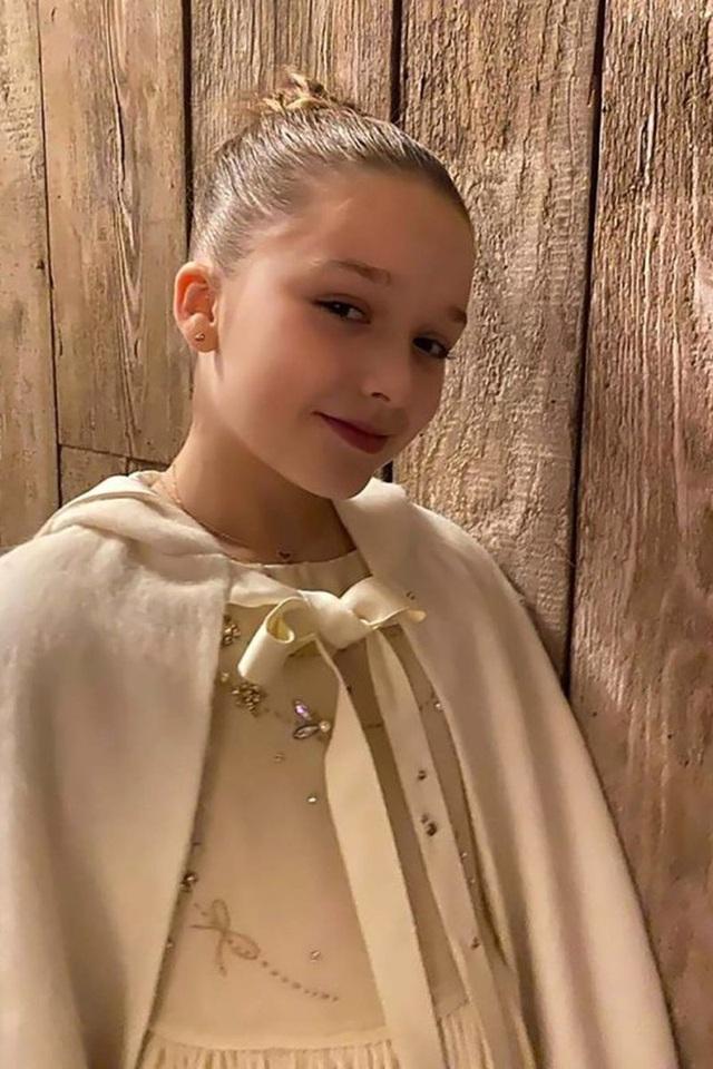 Con gái 9 tuổi của David Beckham đáng yêu với áo crop-top - 7
