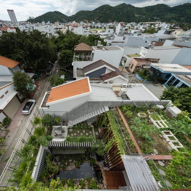 """Gia đình Nha Trang đập thông 2 căn nhà thành nơi """"nuôi cá và trồng rau"""""""
