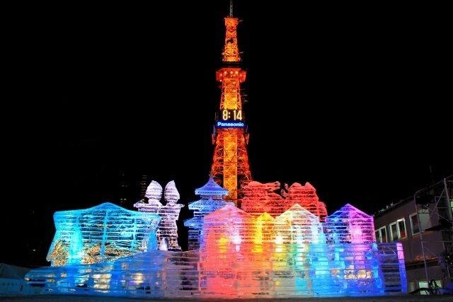 Những công trình băng tuyết kỳ vĩ ở lễ hội tuyết lớn nhất Nhật Bản - 2
