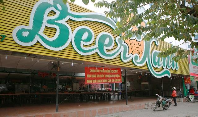 Không một bóng khách, nhà hàng, quán nhậu ở Hà Nội đồng loạt đóng cửa - 7