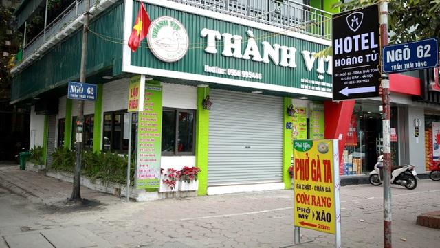 Không một bóng khách, nhà hàng, quán nhậu ở Hà Nội đồng loạt đóng cửa - 10