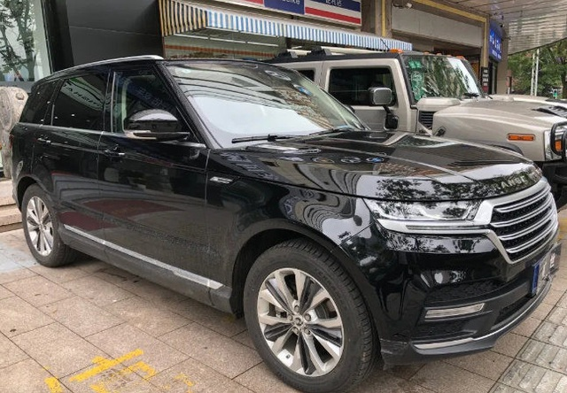 Xe Trung Quốc Hunkt Canticie trắng trợn nhái Land Rover - 3