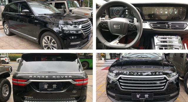 Xe Trung Quốc Hunkt Canticie trắng trợn nhái Land Rover - 1