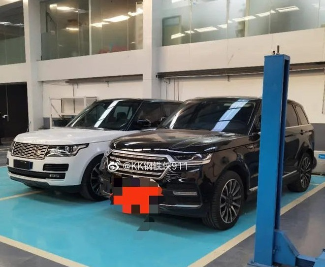 Xe Trung Quốc Hunkt Canticie trắng trợn nhái Land Rover - 8