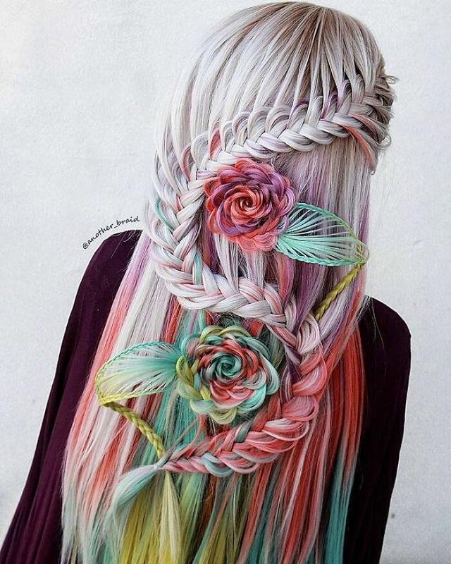 Choáng ngợp với những màn tết tóc siêu phẩm - 1