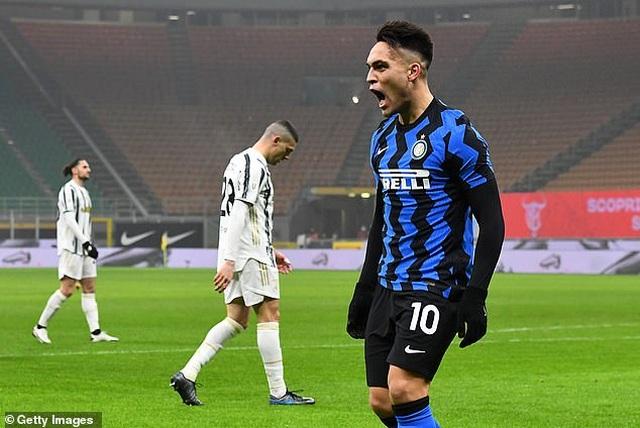 Những khoảnh khắc C.Ronaldo tỏa sáng giúp Juventus hạ gục Inter Milan - 2