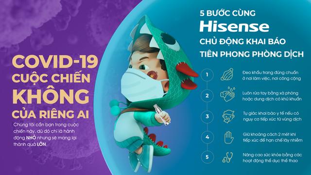 Hisense Việt Nam chủ động phòng dịch hiệu quả - 1