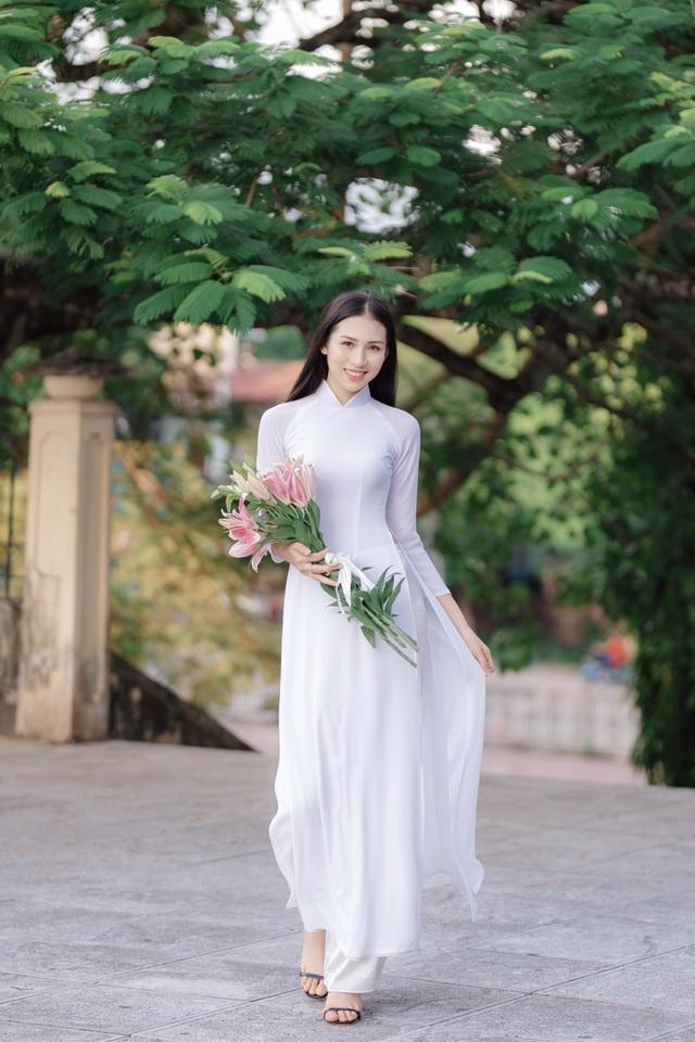 Hoa khôi Học viện Phụ nữ - Vẻ đẹp truyền thống với mái tóc dài thướt tha - 5