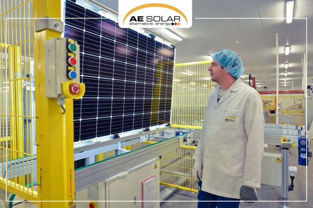 AE Solar xây nhà máy sản xuất pin mặt trời mới với công suất khổng lồ - 1