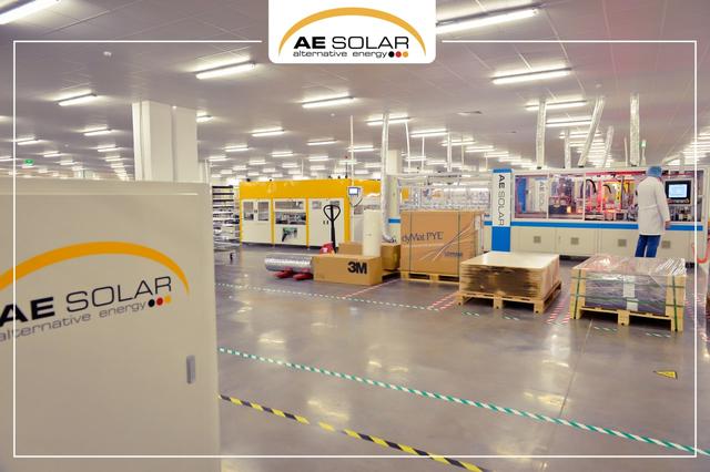 AE Solar xây nhà máy sản xuất pin mặt trời mới với công suất khổng lồ - 2