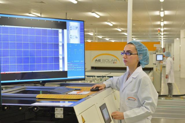 AE Solar xây nhà máy sản xuất pin mặt trời mới với công suất khổng lồ - 4
